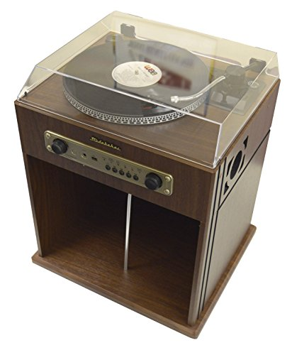 ... Studebaker Stereo Turntable With Bluetooth Receiver And Record Storage  Compartment, SB6059 From Studebaker