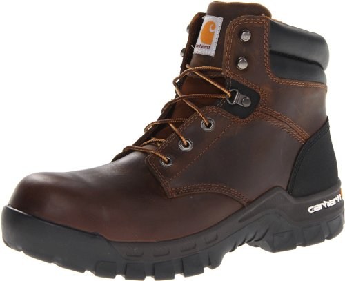 Carhartt Men'S Cmf6366 6 Inch Composite Toe Boot,Brown Oil Tanned Leather,9.5 M Us