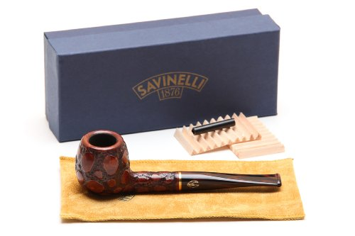 Savinelli Alligator Brown 207 Tobacco Pipe