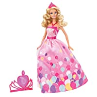 Mattel W2862 Barbie Birthday Princess Doll Gift Set