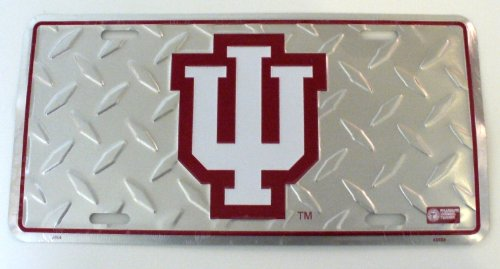 University of Indiana Hoosiers License Plate