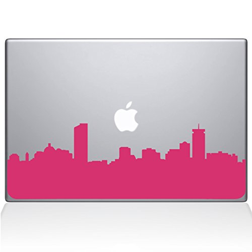 "Boston City Skyline 13"" Macbook Pro Bubble Gum Decal Sticker"