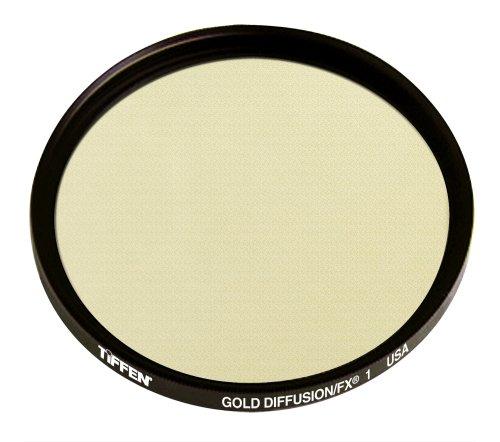 Tiffen 67GDFX1 67mm Gold Diffusion 1 Filter
