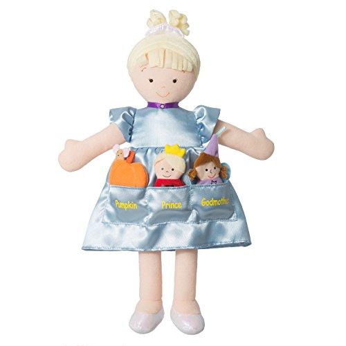 North American Bear Dolly Pockets Cinderella Doll (North American Bears compare prices)