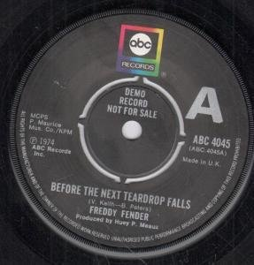 Freddy Fender - Before The Next Teardrop Falls / Waiting For Your Love - Zortam Music