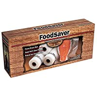 TILIA FOODSAVER GAMESAVER PORTION POUCH BAGS DOUBLE 11IN ROLLS