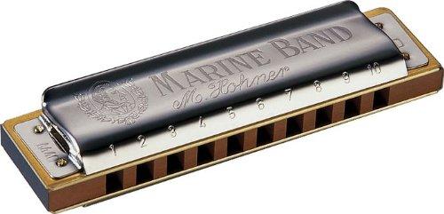 Hohner Marine Band Harmonica, Key of G#/Ab