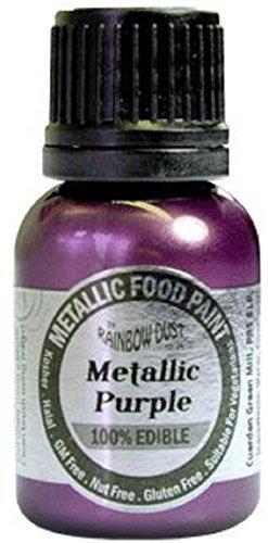 peinture-metallisee-violet-comestibles-alimentaire-par-rainbow-dust