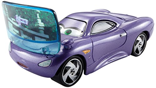 Disney/Pixar Cars, Allinol Blowout Die-Cast, Holley Shiftwell with Screen #6/9, 1:55 Scale