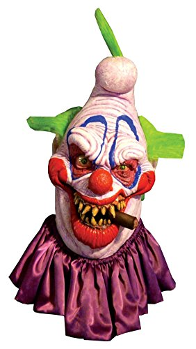 Big Boss Insane Evil Scary Clown Horror Latex Adult Halloween Costume Mask