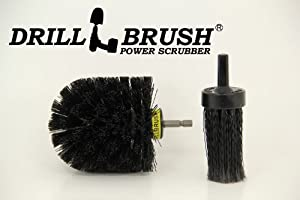 Car Wheel, Truck Tire and Lugnut cleaning Brush Combo Kit