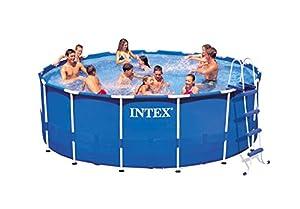 Amazon Com Intex Metal Frame Pool Set 15 Feet By 48 Inch
