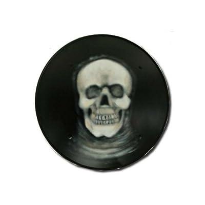 Grim Reeper Dark Medieval Shield - 16 Gauge Steel - Black - One Size
