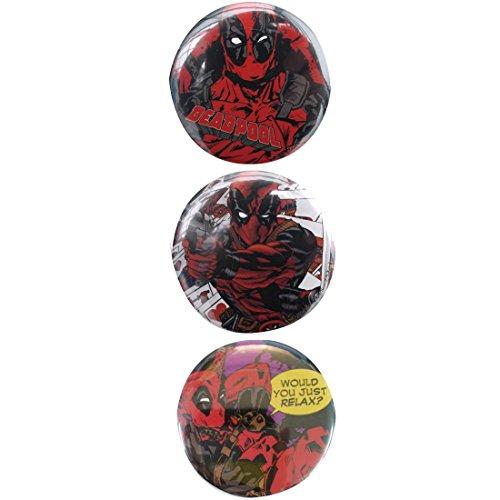 マーベルコミック デッドプール 缶バッチ セット01 SPTB371