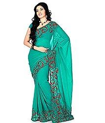 SayShopp Fashion Women's Designer Saree with Blouse Piece