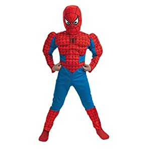 Disguise Inc Boys Spider-Man Comic Muscle Figure Child Costume