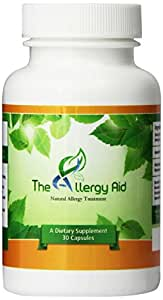#1 Recommended Best Natural Allergy Treatment - The Allergy Aid - Fast and Ongoing Non-drowsy Allergy Relief. Promote Sinus Health, Fight Seasonal Allergies. Quality Ingredients with Quercetin, Bromelain, Nac, Boswellia and More. The Best Healthy and Effective Natural Allergy Pills to Treat Allergies for Fast Relief