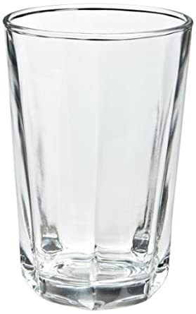"Clarisse 77794 3-3/8"" Diameter x 5-1/8"" Height, 14 oz Beverage Glass (Case of 36)"