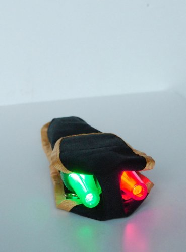 Kayalu / Tektite Navlite® Portable LED Red-Green Kayak Running Lights / Bow Lights (Bow Running Lights compare prices)