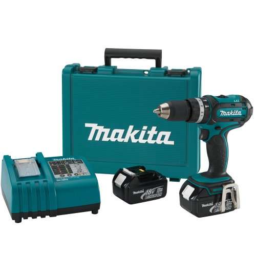 Makita BHP452 18-Volt LXT Lithium-Ion Cordless 1/2-Inch Hammer Driver-Drill Kit