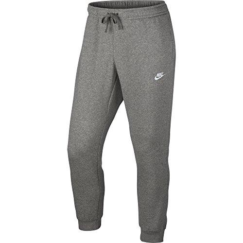 Nike Men's Sportswear Jogger Pants Dark Grey Heather/White X-Large