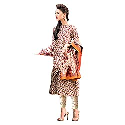 Pulp Mango Media's Pakistani Designer Style Pure Cambric Cotton lovely digitally Printed Top, Semi Lawn Bottom and Chiffon Printed Dress Material Available at Wholesale Prices. High End Chic Ethnic Look for this season.