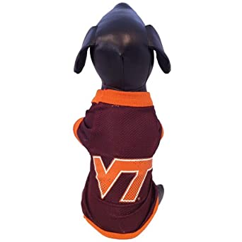 Buy NCAA Virginia Tech Hokies Athletic Mesh Dog Jersey by All Star Dogs