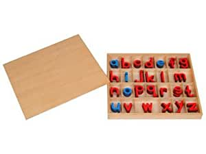 Kid Advance Co. Montessori Small Movable Alphabets w/ Box