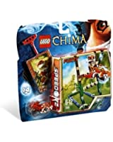Lego Legends of Chima - Speedorz - 70111 - Jeu de Construction - L' ultime Saut