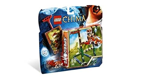 LEGO Legends of Chima - Speedorz - 70111 - Jeu de Construction - L' ultime Saut