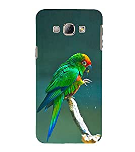EPICCASE wet parrot Mobile Back Case Cover For Samsung Galaxy A8 (Designer Case)