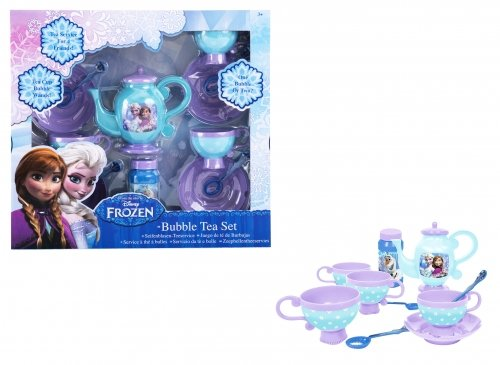 Disney Frozen Anna & Elsa 'Bubble Tea Set' Play Set 14 Piece Toys