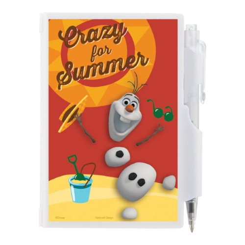 National Design Disney Frozen Olaf Pocket Notes front-297283