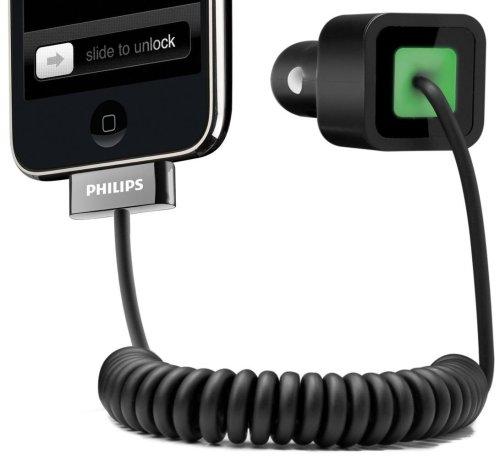 Chargeur allume-cigare DLM55557/10  pour iPhone 3G  , iPod tous modèles