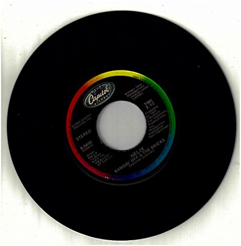 Helix / Bangin' Off-A-The Bricks / 45Rpm Record
