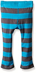 Trumpette Toddler Girls Pepper Grey Stripe Leggings, Multi, 12-18 Medium