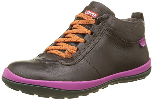 Camper Peu Pista, Stivaletti Donna, Marrone (Dark Brown 035), 37 EU