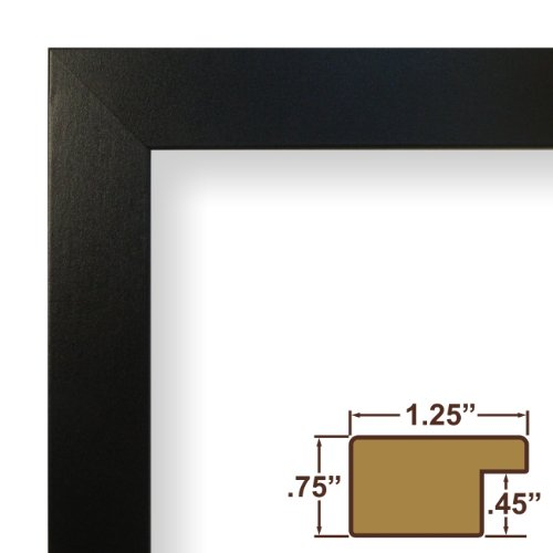 Craig Frames 76808704 18 by 24-Inch Picture Frame, Smooth Finish, 1.25 ...