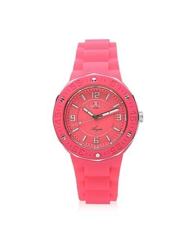 Oceanaut Women's OC0212 Acqua Pink Rubber Watch