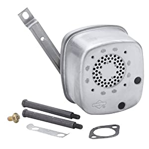 Briggs & Stratton 496022S Lo-Tone Muffler For Selected Model 28 Vertical Engines. by Magneto Power