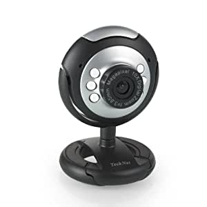 USB Webcam Camera, 5 MegaPixel, 5G Lens, Built in Microphone & 6 LED