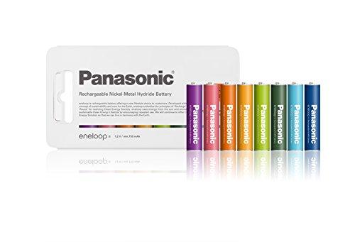 パナソニック eneloop トーンズ 単4形充電池 8本パック 10周年限定モデル BK-4MCC/8TN