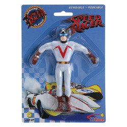 Speed Racer Classics Racer X Bendable Poseable Figure