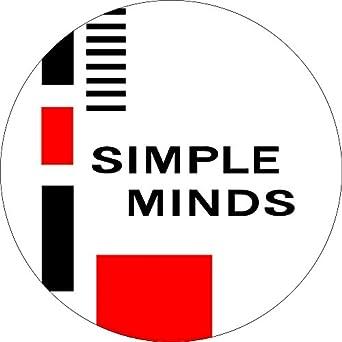 """Amazon.com: Simple Minds - Logo (Squares) - 1 1/2"""" Button ..."""