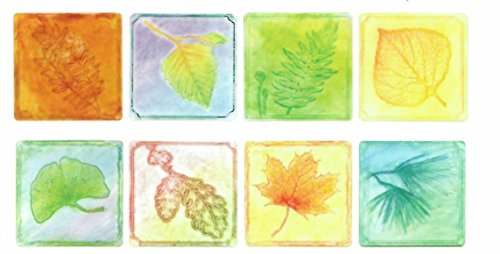 Embossed Paper - Leaf Collection (Package of 24 Sheets) - 1