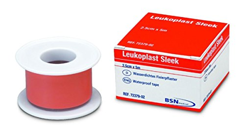bsn-medical-leukoplast-sleek-high-strength-waterproof-adhesive-tape-25cm-x-5m