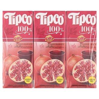 tipco-100-pomegranate-mixed-fruit-juice-200ml-x-3pcs