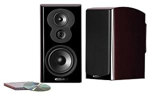 Polk Audio LSiM 703 MM Bookshelf Loudspeaker (Midnight Mahogany)(1 speaker)