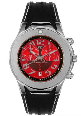 Men's Diva Dimitri Chronograph Black Rubber