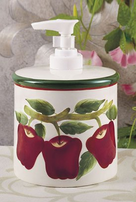 Kitchen Accessories With Apple Theme Simple Home Decoration